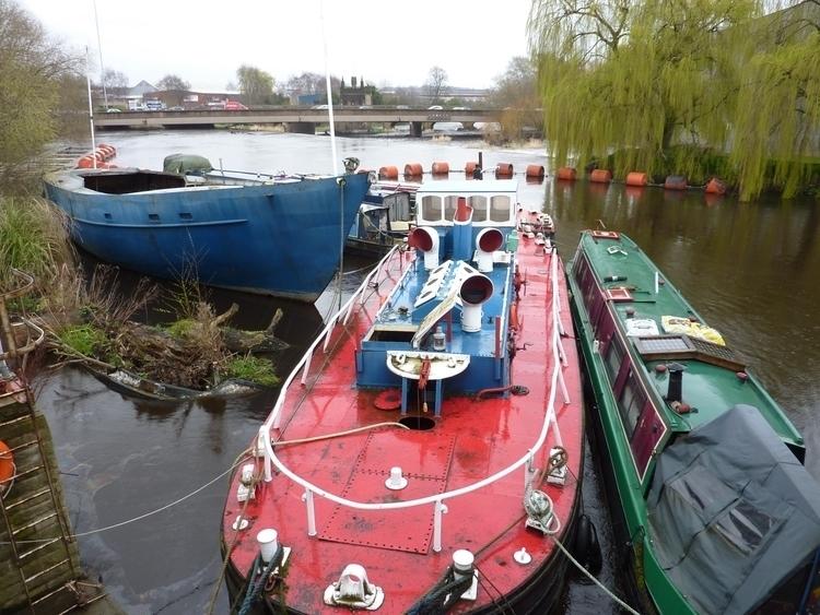 Boats River Calder; strange cre - firehorsetextiles | ello