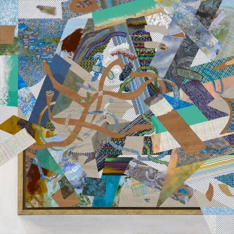 lot painting. frame, shadow, ca - markstebbins | ello
