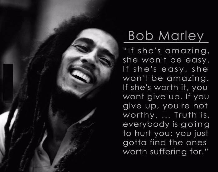 cool quote Bob Marley battlesta - storribio | ello