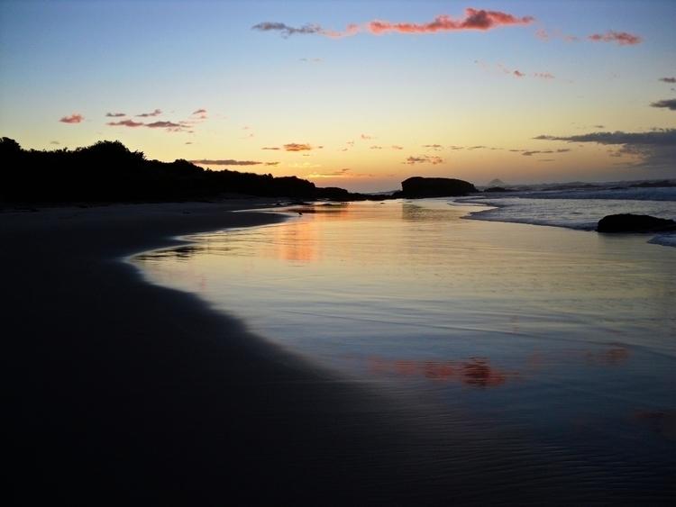 Brighton Beach Sunrise - controlledaccident | ello