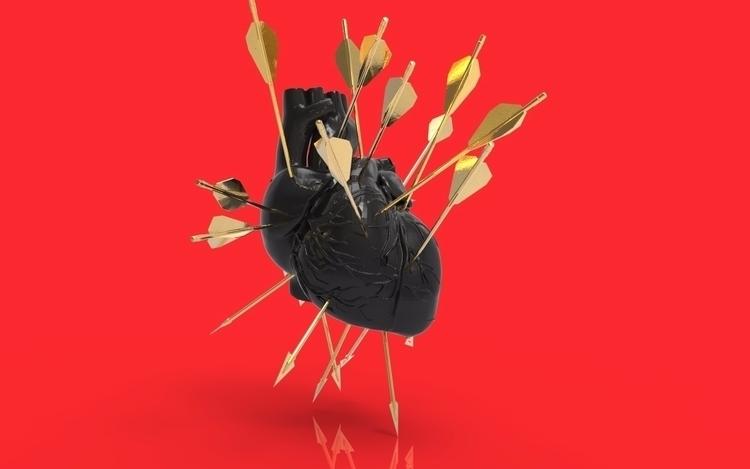 Black Gold - digital, sculpture - theshadowartist | ello