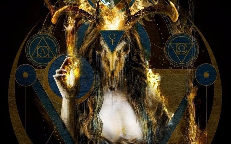 dark Goddess - fragment - nestoravalosofficialblackartssite   ello