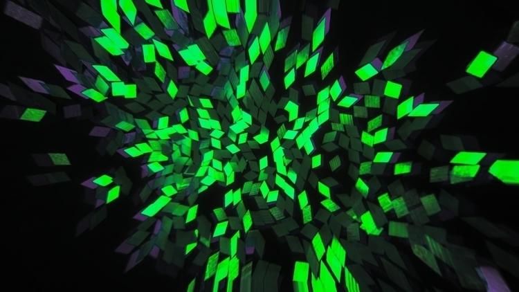 Toxic splash - toxic, green, art - dobromyslova | ello