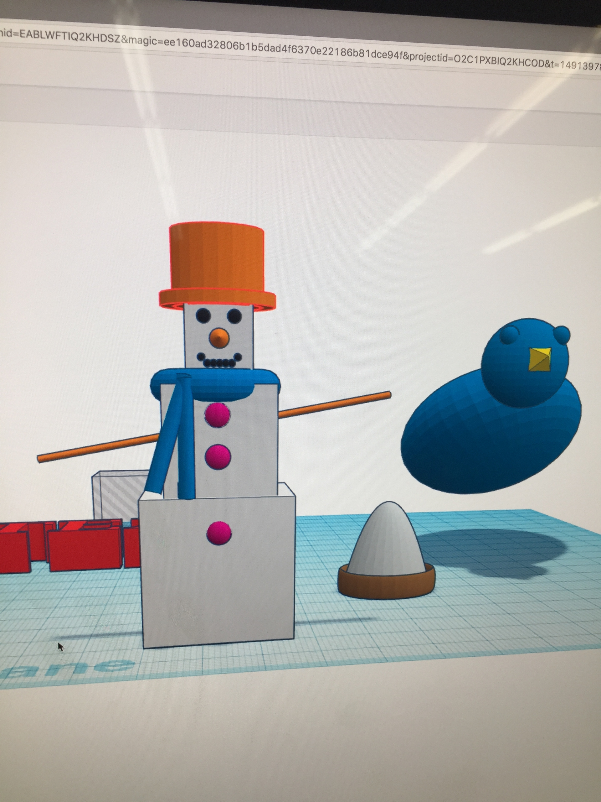 Tinkercad time! Bad weather com - slabra15m | ello