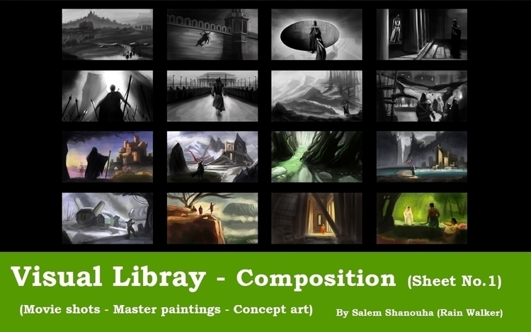 Visual Library Series - Composi - rain_walker | ello