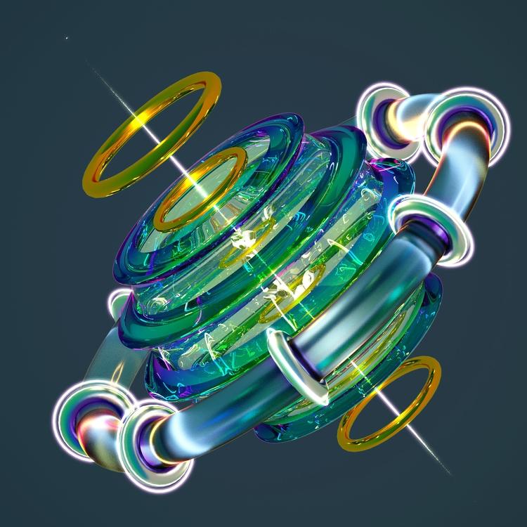 maxon, c4d, octanerender, xparticles - yocheng | ello