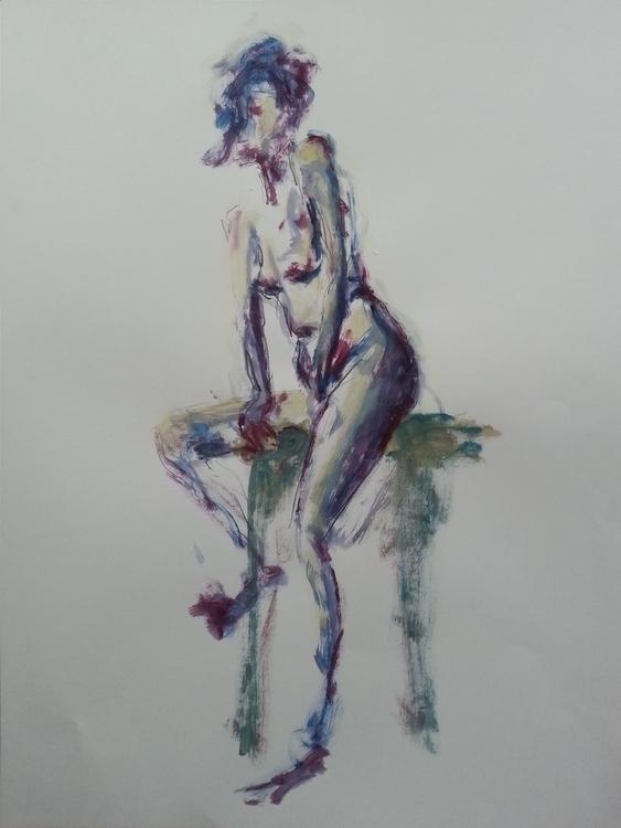 Christine 16–03-2017 Acrylique  - olivierjouanard | ello