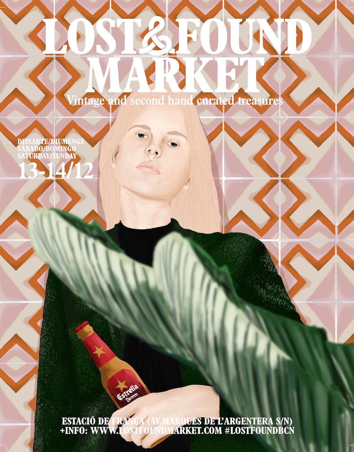 Poster Lost Market, vintage mar - stefaniatejada | ello