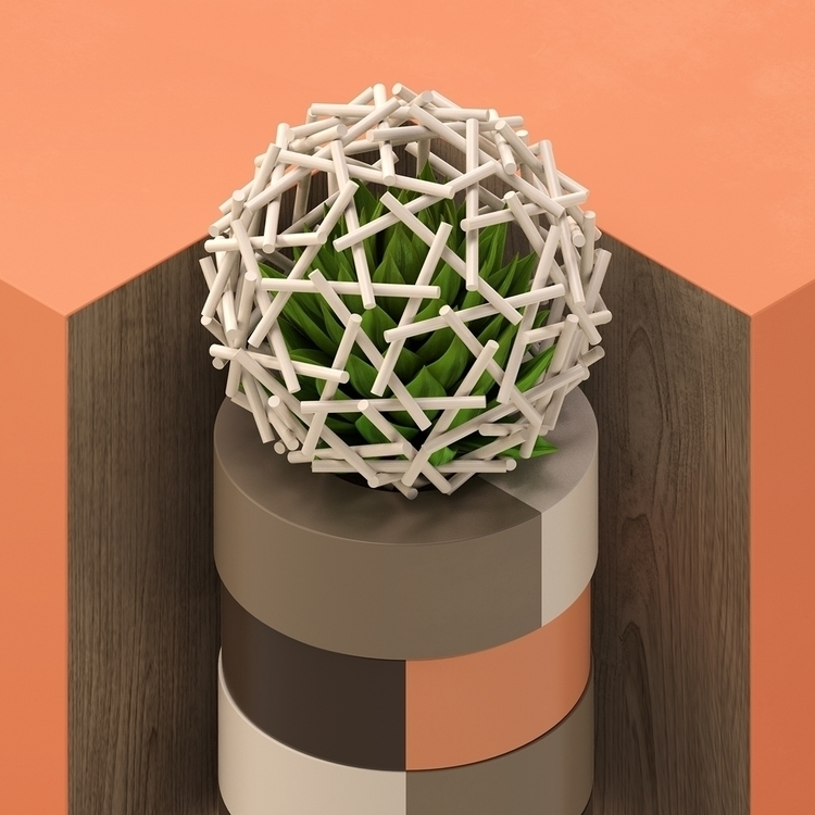 geometry - 3d, set, design, c4d - andreas_wannerstedt | ello