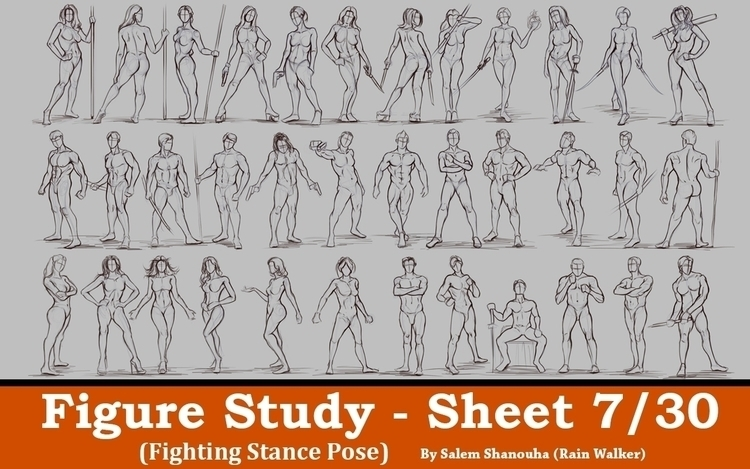 Figure Drawing - Part 7/30 (Fig - rain_walker | ello