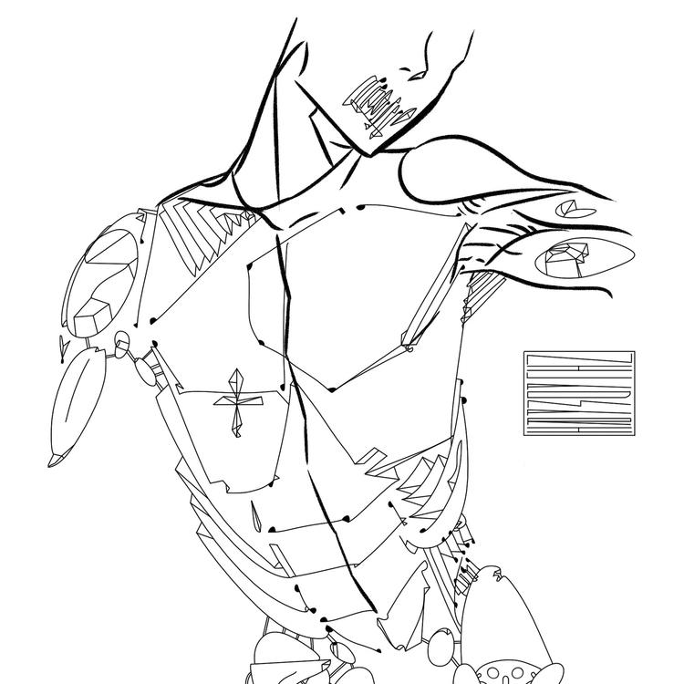 niladmari, 040417. print shop - illustration - jacccob | ello