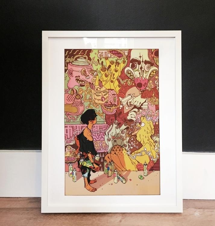 Wall', special edition Print Mu - eyeforlondonprints | ello