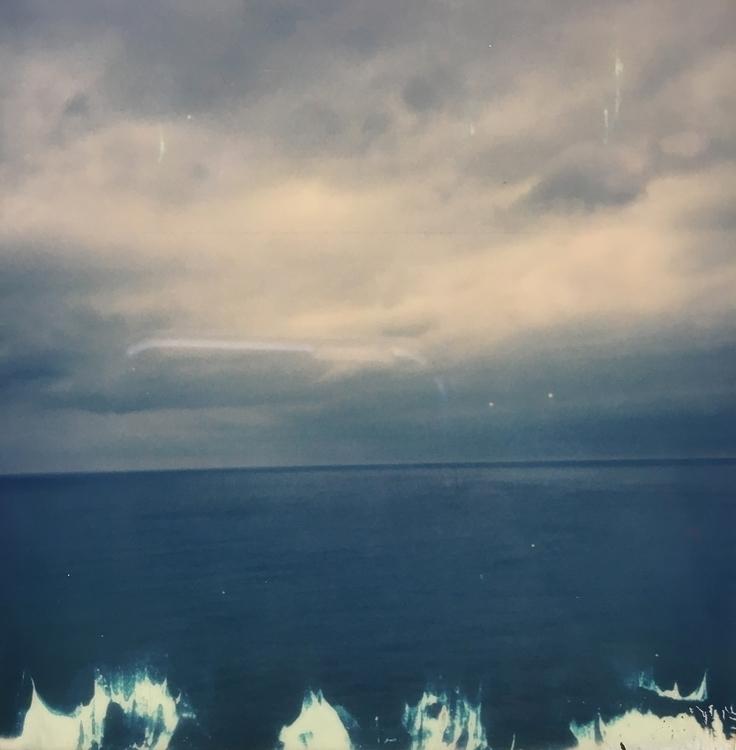 Lake Michigan - polaroid, landscape - jkalamarz   ello