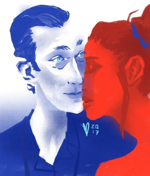 Vin Cassel - French Kiss - digitalart - evandileo   ello
