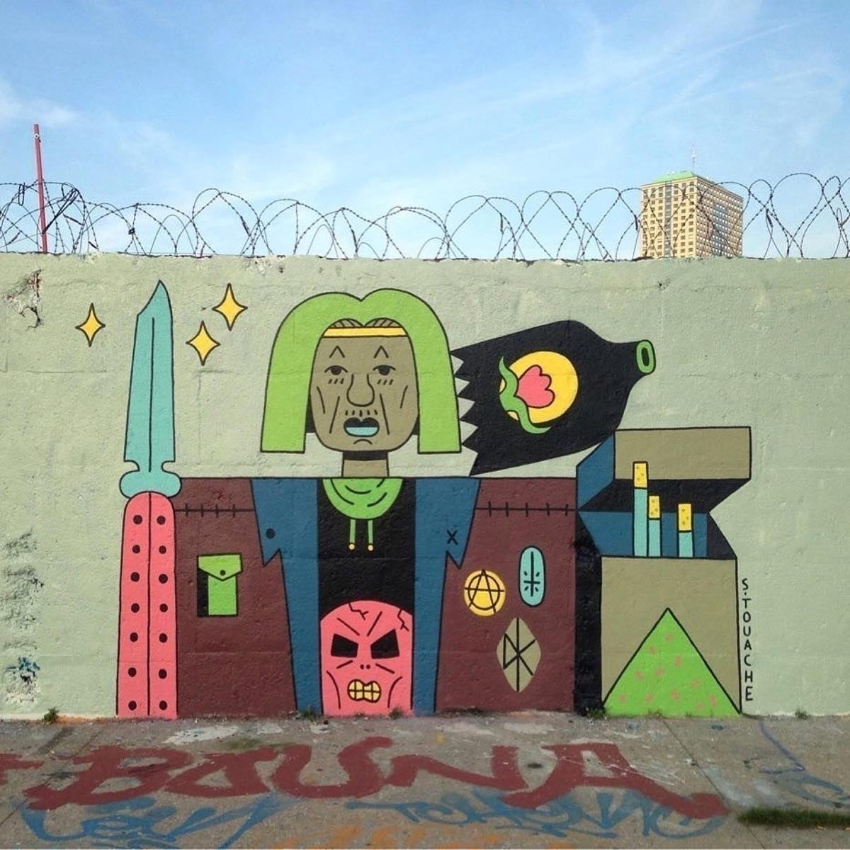 wall artist - talltreesofparis, paris - helliongallery | ello