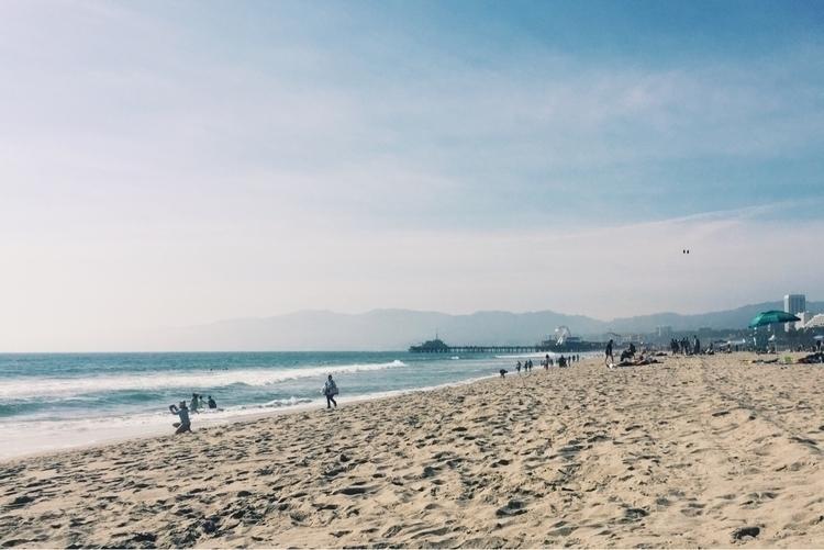 swim Pacific Ocean Park, Santa  - brimming | ello