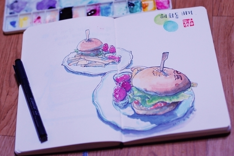 Daily sketch. 2017. 4. 6 - doodle - danieljang | ello