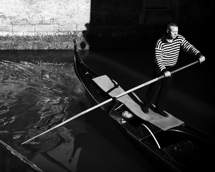 venice, gondola, gondolier, venezia - soininen | ello