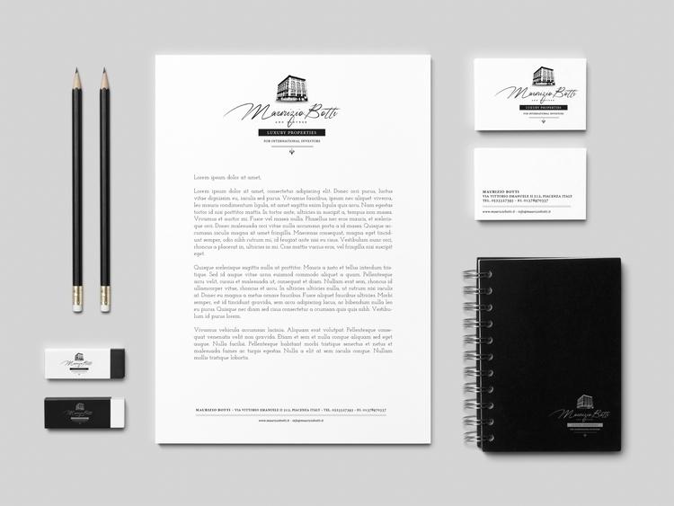 Logo - Branding Luxury - design#luxury#logo#brand#art#graphic#realestate - deborageraci | ello