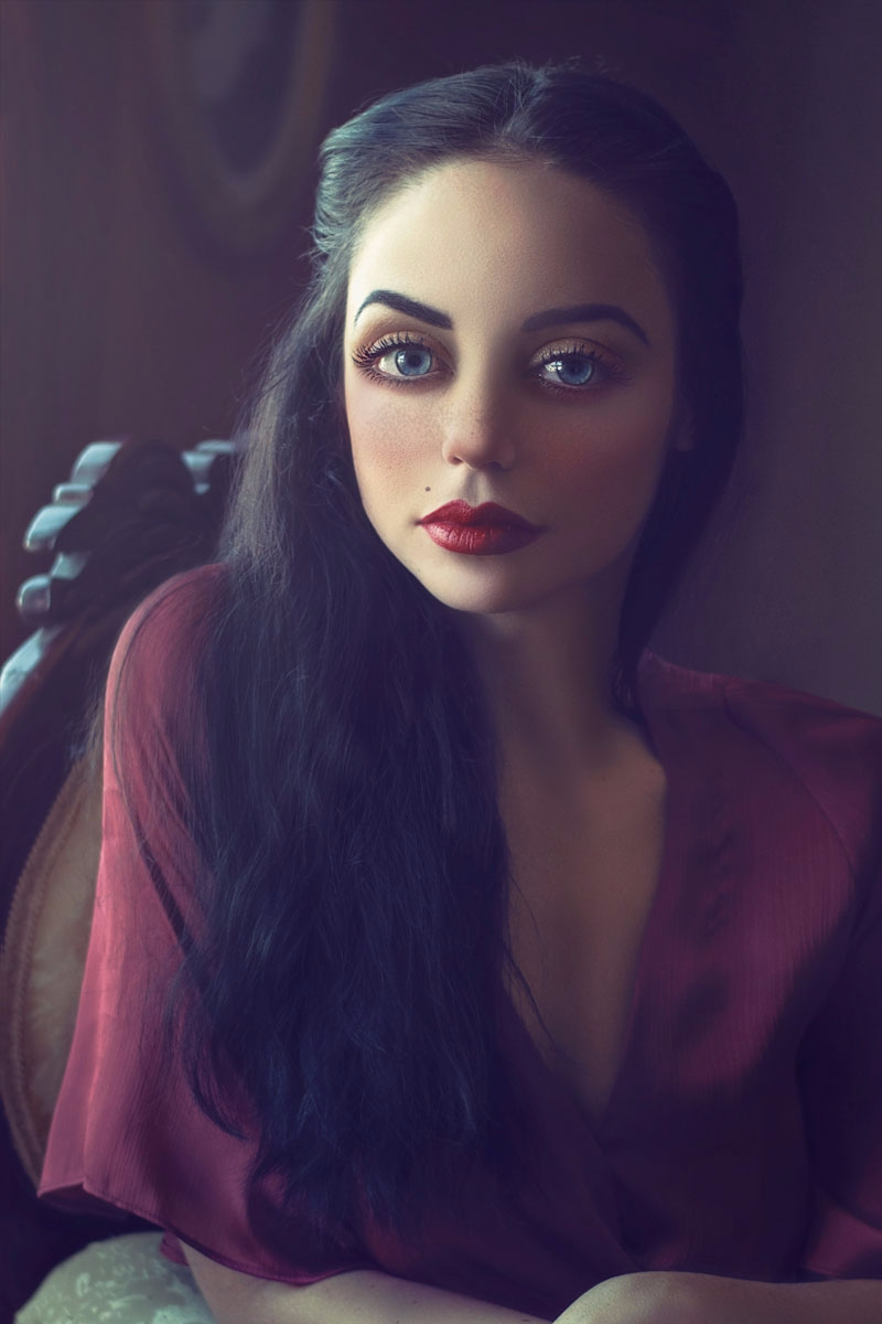 """Dahlia"" — Photographer: Kelly  - darkbeautymag   ello"