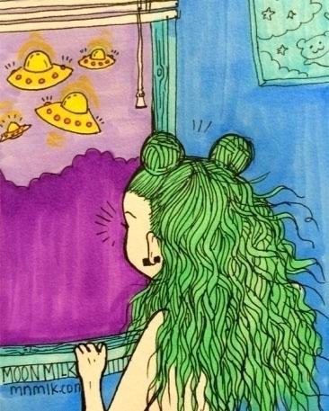 story Alien Bae - moonmilkbabies | ello