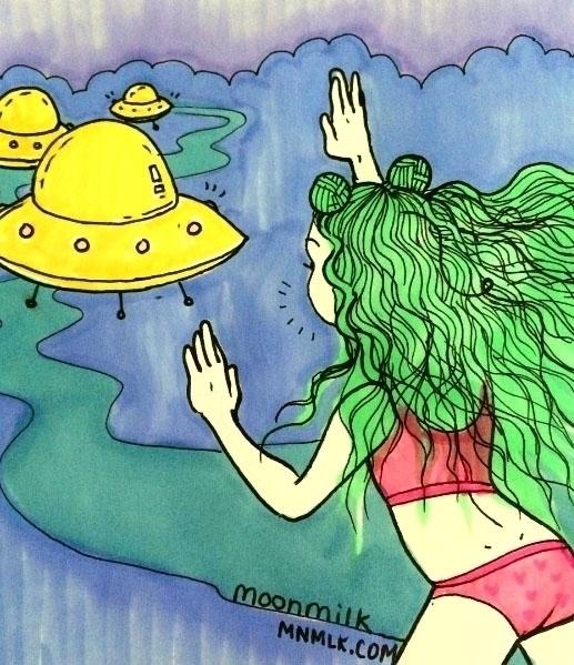 story Alien Bae - moonmilkbabies   ello