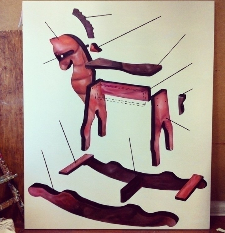 2015. Oil canvas. 160 110cm - oilpainting - ray3000   ello