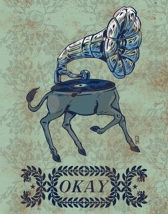 Music - illustraion - thomcat23 | ello