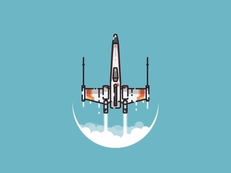 starfighter illustration Instag - kirp | ello
