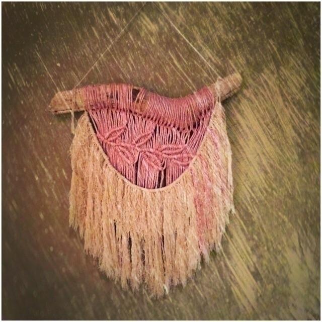 Sweet Boho Wall Hanging :relaxe - wovenhawaii | ello