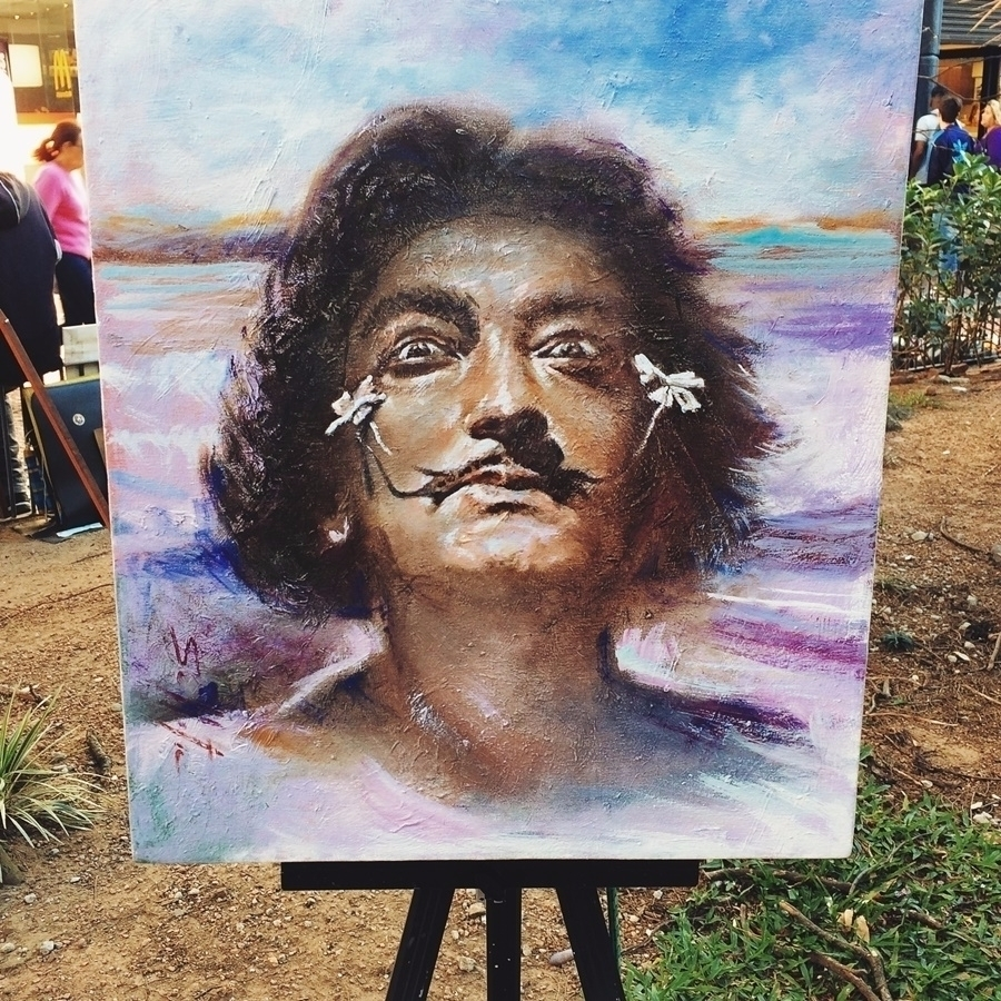 ''Releitura de Salvador Dalí -  - igormayca   ello