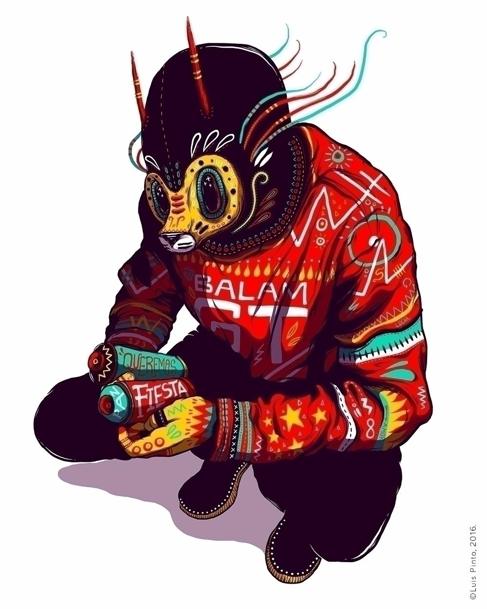 2017.04.10 | Luis Pinto Mexican - yourdailybread | ello
