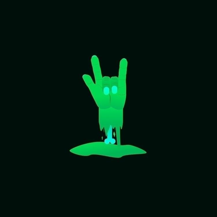 death - punk, graphicdesign, illustrations - smith   ello