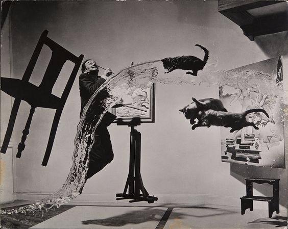 Dali Atomicus, 1948 Philippe Ha - ohgoodgoods_mag | ello