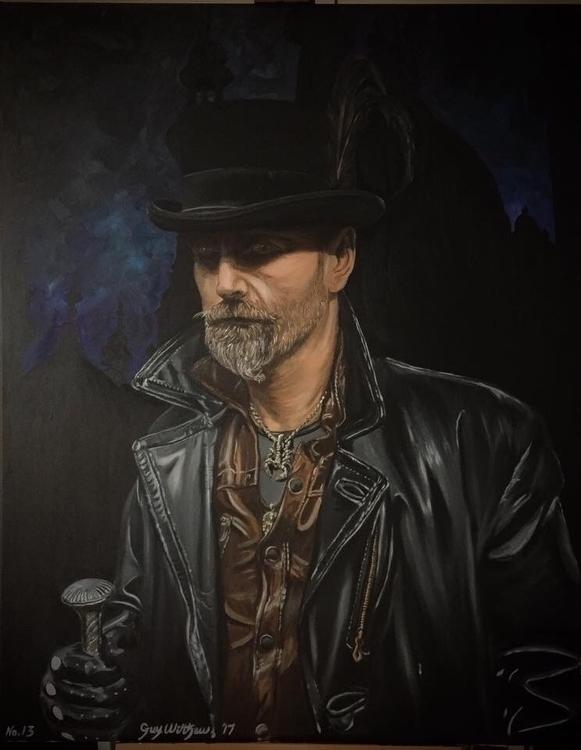 'Hardy' Portrait. Oil canvas - guywilthew | ello