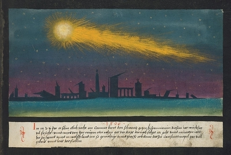 Comets, Book Miracles, illustra - arthurboehm   ello