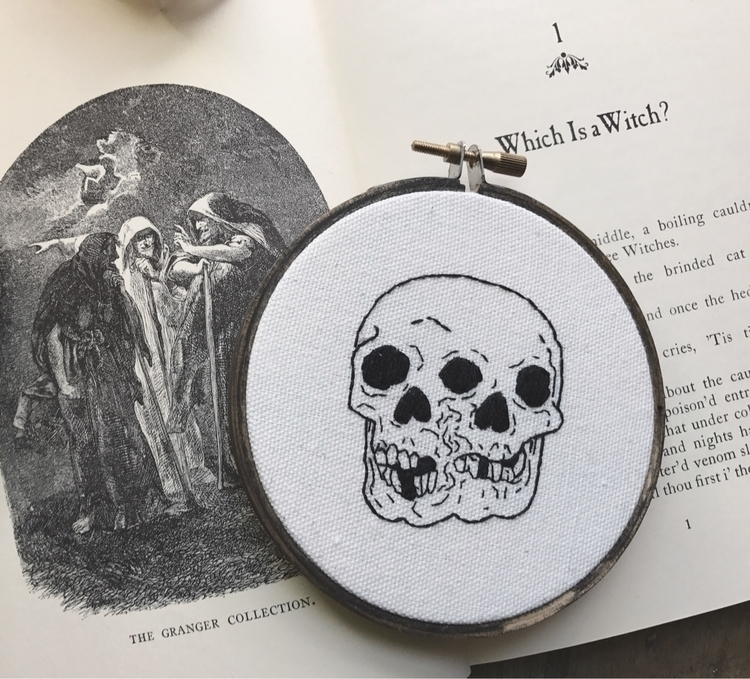 Hey, updated shop embroideries - spookyghoul | ello