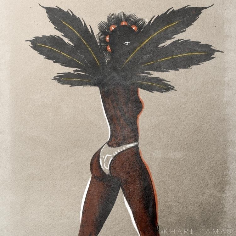 music, illustration, caribbean - kharikamau | ello