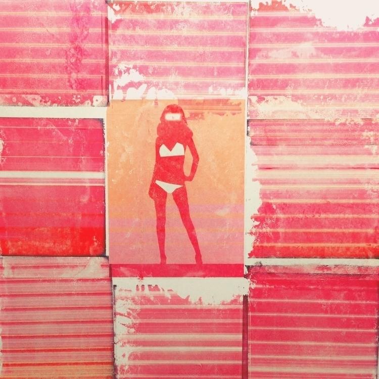 Bikini Atoll - art, pattern - jkalamarz | ello