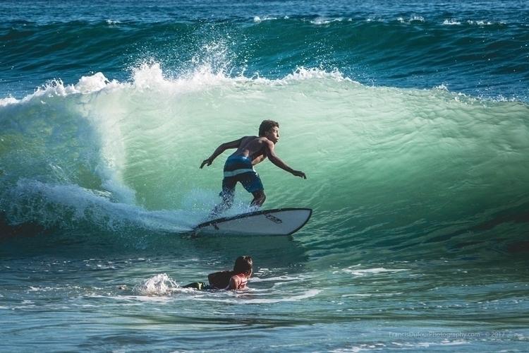 Riding Waves Playa Carmen (Cost - francisdufour | ello
