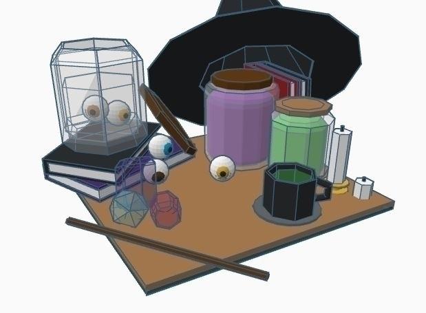 WIFT Project 3D Modeling desk l - ramorris | ello