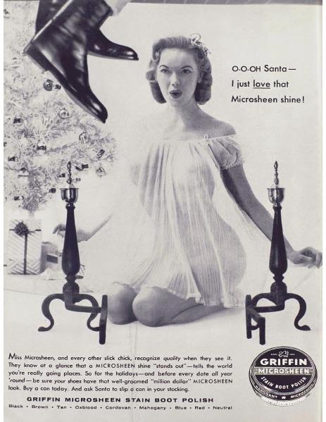 Shoe Polish Advertisement 1956  - playboycollection | ello