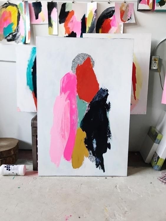 long embellish painting ink. fe - angietherose | ello
