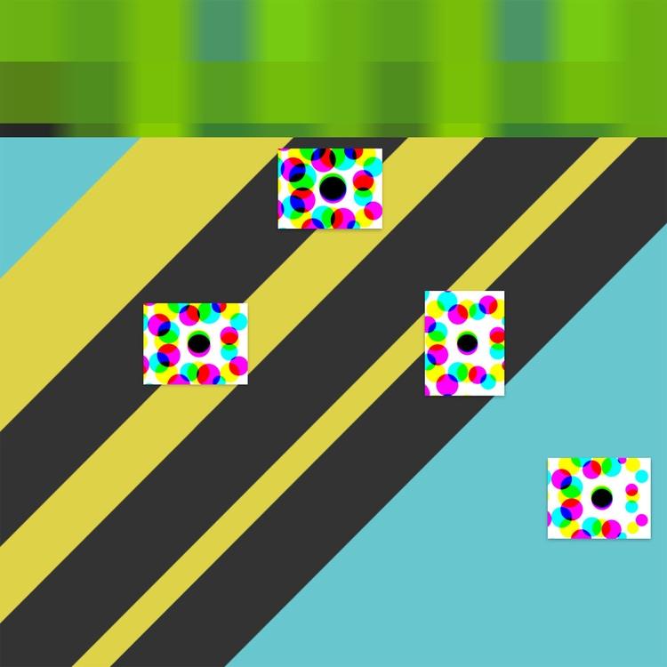 pixels/stripes - incolorvision | ello