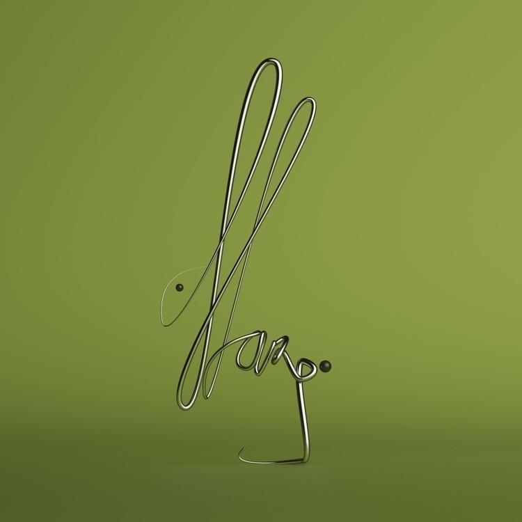 HARE inspired work Saul Steinbe - ateliermartini | ello