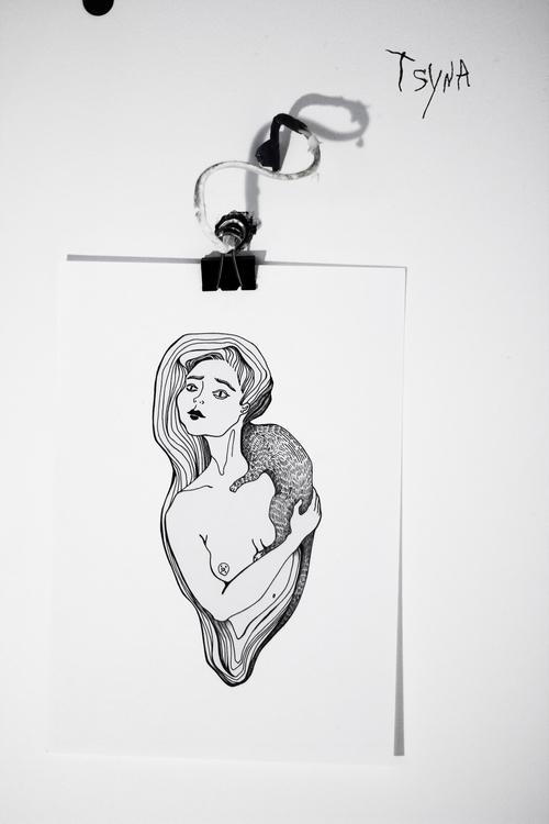 sketch, tattoosketch - tsyna | ello