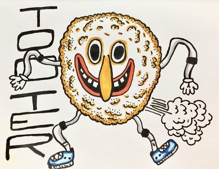 Tooter - doodle, illustration, doodledaypdx - dsmoore | ello