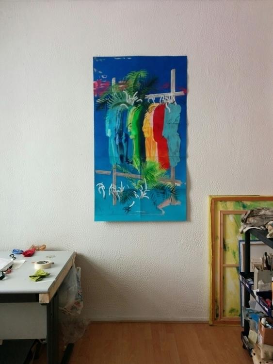 finished painting working month - juancarlosrosacasasola | ello