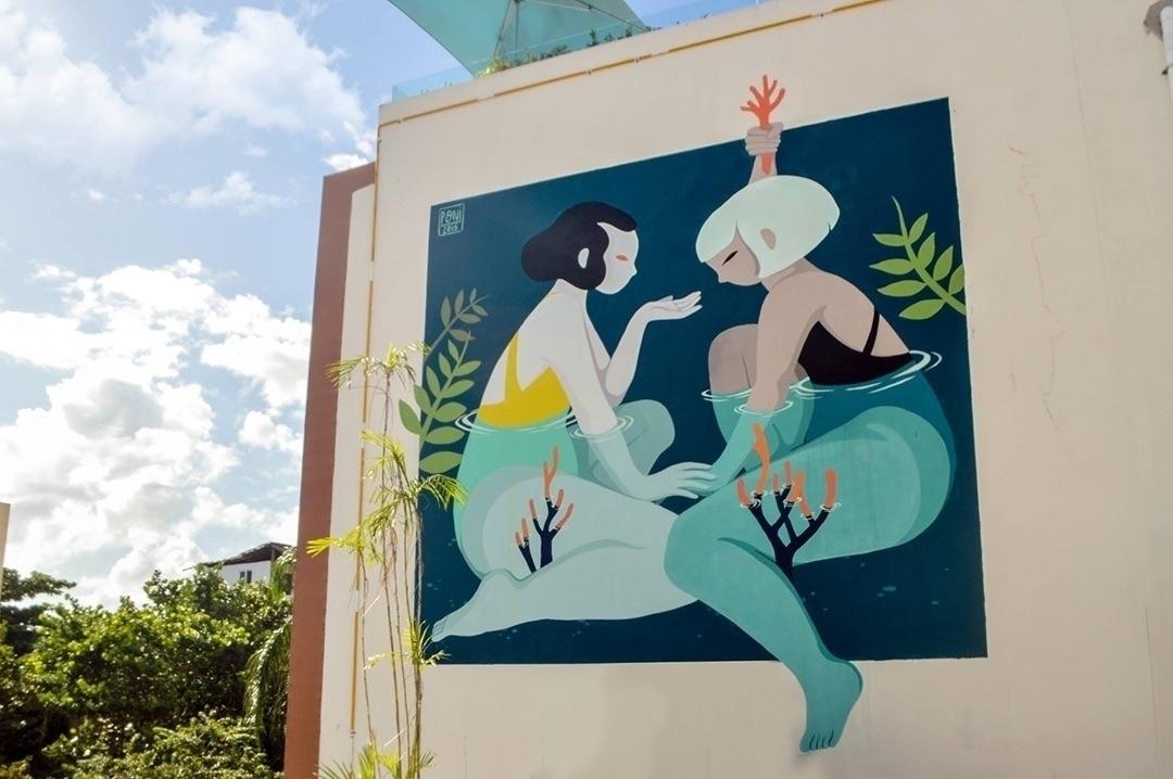 work Mexico City artist Hilda P - helliongallery | ello