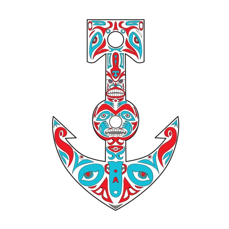 Northwest Coast - Anchor, Totem - patrimonio | ello